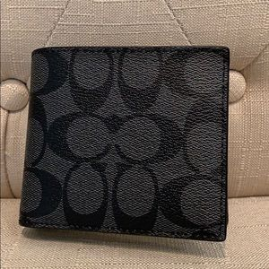 COACH Brand New! Mens 3-in-1 Wallet